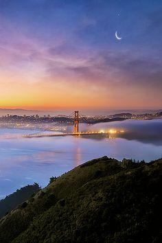 "wonderous-world: ""San Francisco's Dreams by Darvin Atkeson """