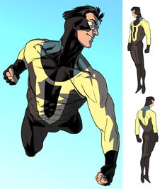 Invincible redesigned by Kris Anka