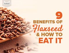 Curious about the health benefits of flaxseed? We recommend always choosing milled (ground) flaxseed over whole seeds for more nutrition. Try Manitoba Milling Smooth Whole Milled Flaxseed Health Diet, Health And Nutrition, Health And Wellness, Health Care, Ground Flax Seed Benefits, Eating Raw, Clean Eating, Fiber Foods, Natural Health Remedies