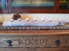 Wedding gift idea Driftwood center piece by FlotsamJetsamCrafts