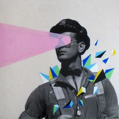 Collages by Spanish artist Marcos Martinez. // #art #collage