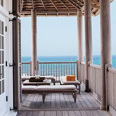 Don't lose sight of the real goal: maximizing the view. Keep furniture low and stick with clean lines and simple materials. coastalliving.com