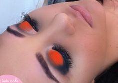 Produção - maquiagem laranja viva festa de 15 anos por maquiadora Ariadne Cretella - tudo make
