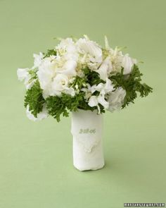 """See the """"Handkerchief Bouquet Wrap"""" in our 50 Good Things for Your Wedding gallery"""