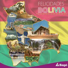 En tus 190 años ¡Felicidades Bolivia! Tierra hermosa, pujante y valerosa... #SaludyBienestarBagó