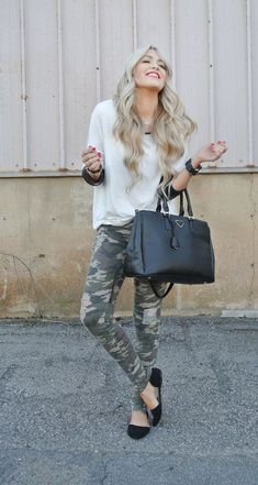 Street Style Military Pants and Army Trousers For Women (7)