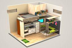 A Tiny Tack House design