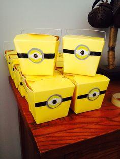 Yellow minion noodle box Loot boxes