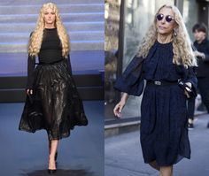 Jean Paul Gaultier pays tribute to fashion editor friends as he says farewell to ready-to-wear 2015 -Telegraph:  Franca Sozzani