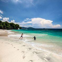 Hidden Bali Beaches - Bias Tugal Beach, Karangasem, Bali, Indonesia.