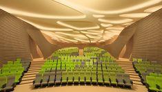 Auditorio y sala de video de alta definición en Saint Cyprien – ARQA