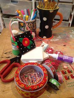 A very Mary Engelbreit Christmas craft