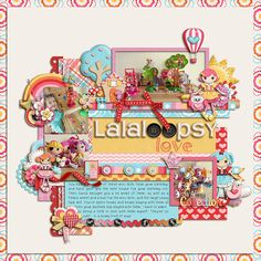 Sew Cute and Sweet - Jady Day Studio  Once Upon A Girl Template - Cindy Schneider The Bookworm - Heather Hess
