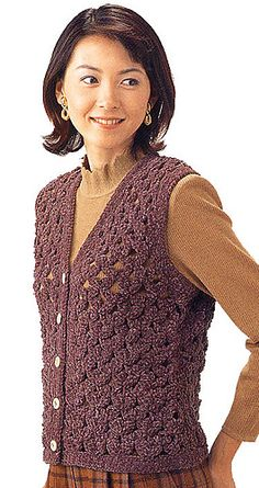 Pattern is Japanese but fully charted using standard knitting and/or crochet symbols. For help using Japanese charted patterns, please visit the Japanese knitting & crochet group.