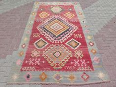Anatolia-Turkish-Antalya-Nomads-Kilim-70-4-x-127-9-Area-Rug-Kelim-Carpet