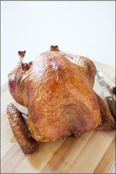 Grilled turkey cooks illustrated - I place this in my Weber grill with wood chips in a metal box or aluminum foil under the grates.  It's simply marvelous!  Never roast in the oven again!  No mess!  This is what I'm talkin' about.