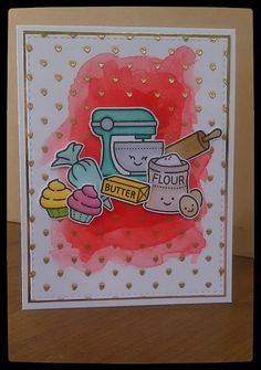 Lawn Fawn - Baked with Love _ cute card by Lynnea via Flickr