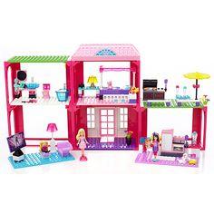 """Mega Bloks Barbie Building Set - Fab Mansion - MEGA Brands - Toys """"R"""" Us"""