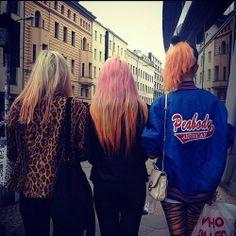 Pink & ORANGE!