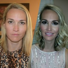 The power of makeup ;)