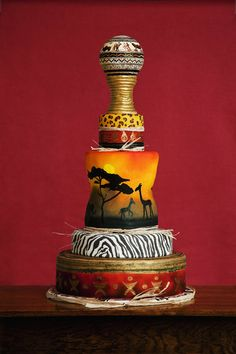 African Prints #Cake.