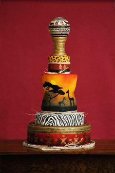 African Prints #Cake.
