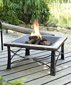 Copper Ring Fire Pit