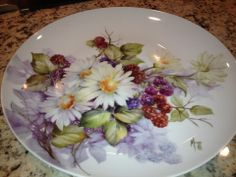 Daisies and Berries  Cherryl Meggs