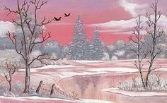 Eileen Blair - Winter In Pink