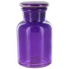 Small Purple Apothecary Bottle with Lid | Shop Hobby Lobby