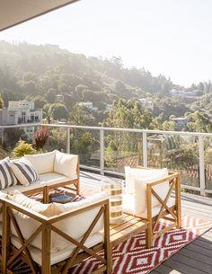 Sunset Magazine 2016 Bay Area Idea House: balcony and patio ideas