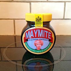 Theresa May Maymite Marmite Jar Little Brexit Island Tory Political Extract Marmite, Theresa May, Politics, Jar, Island, Block Island, Jars, Political Books, Islands