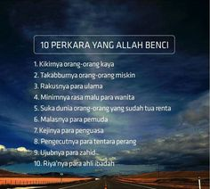 10 perkara Allah Quotes, Muslim Quotes, Quran Quotes, Islamic Quotes, Qoutes, Life Quotes, Alhamdulillah For Everything, Muslim Religion, Motivational Quotes