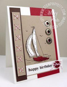 cute masculine card