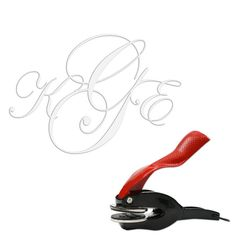 Monogram Embosser -I could use this on the invitations, favor boxes, napkins, and all the holiday cards we send out in the future.