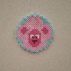 Lion coaster - Steven Universe perler beads
