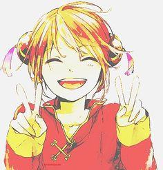 Anime character who eats a lot 2: Kagura - Gintama