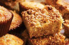 Apple flapjacks uses porridge oats rather than rolled oads (Scottish style oatmeal, finer than steel cut)