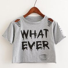 c77f32525 Sweet Crop Top with Crew-Neck T-shirt. Summer Outfits WomenPrinted ...