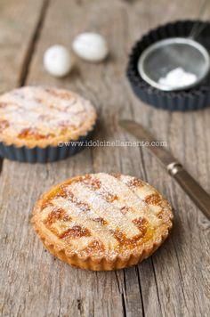 I dolci nella mente: Pastiera napoletana e Brioche di Pasqua in versione mini....e i miei AUGURI!