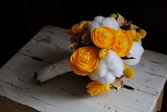 Mixed cotton bouquet