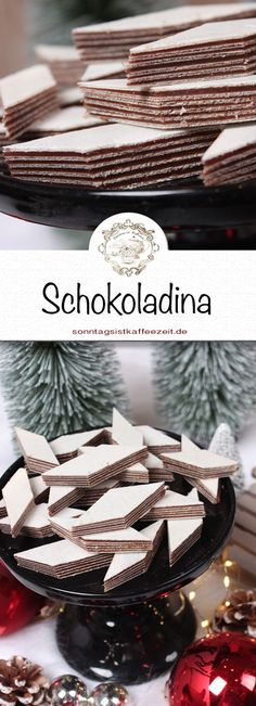 My mother taught me how to make sckokoladina. And here, I reveal to you your great and delicious recipe not to be missed for Christmas. With this recipe, you always succeed. # Weihnachtsgebäck You are in… Continue Reading → Christmas Desserts, Christmas Cookies, Cake Recipes, Dessert Recipes, Mother Teach, Cupcakes, Mediterranean Recipes, Diet And Nutrition, Coffee Time