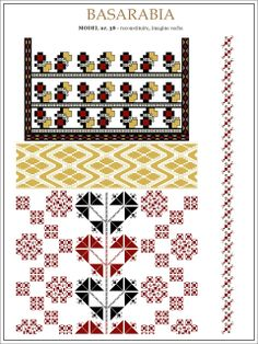 Semne Cusute: iie din BASARABIA - model (38) Embroidery Motifs, String Art, Beading Patterns, Pixel Art, Cross Stitch Patterns, Projects To Try, Kids Rugs, Symbols, Traditional