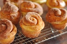 Kugelhopf: Pure buttery bliss. Start them the night before and bake them off for breakfast.
