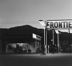 Robert Adams - Pikes Peak.    I love gas stations on film. And this looks fantastic.