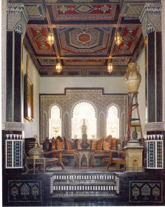 the moroccan interior design style and islamic architecture | my