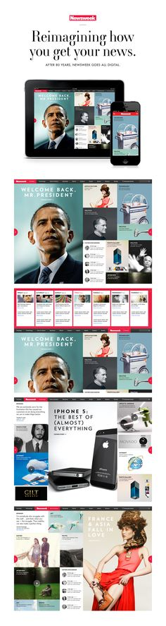 Newsweek, using the president to sell your design.