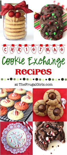 Cookie Exchange Recipes! ~ from TheFrugalGirls.com ~ you'll love this HUGE list of delicious cookies and ideas for your Holiday Cookie Exchanges and Christmas parties! #recipe #thefrugalgirls