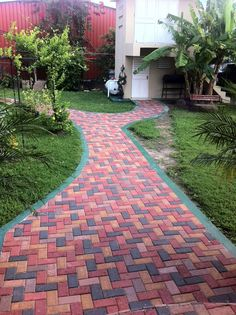 RodLa Construction LTD. This is some of the product & finishing work you can expect from RodLa Construction LTD. Sand Patio, Outdoor Walkway, Paving Design, Brick Design, Stone Landscaping, Front Yard Landscaping, Brick Pathway, Backyard Patio Designs, Brick Patios