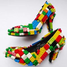 LEGO Stilettos This is what would happen if Jake and Clare drank together one night...